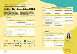 program istället för almedalen 2021